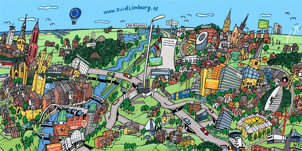 """Actieplan """"Randstad Zuid-limburg"""""""